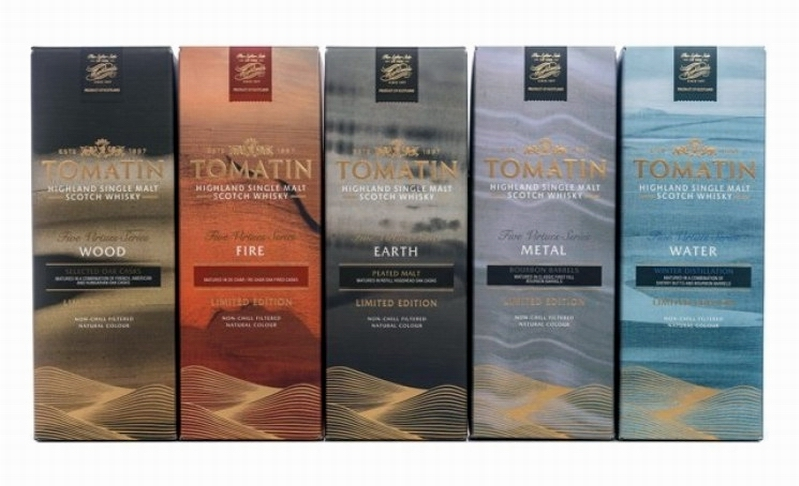 TOMATIN 5 Virtues Boxes