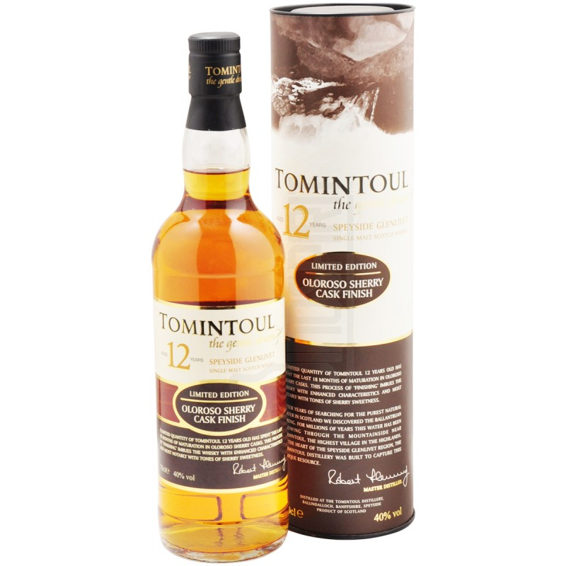 TOMINTOUL 12 Years Oloroso Sherry Cask