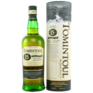 TOMINTOUL 15 Years Peaty Tang