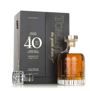 TOMINTOUL 40 Years Decanter
