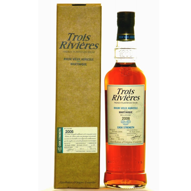 TROIS RIVIERES 8 ans Cask Strength
