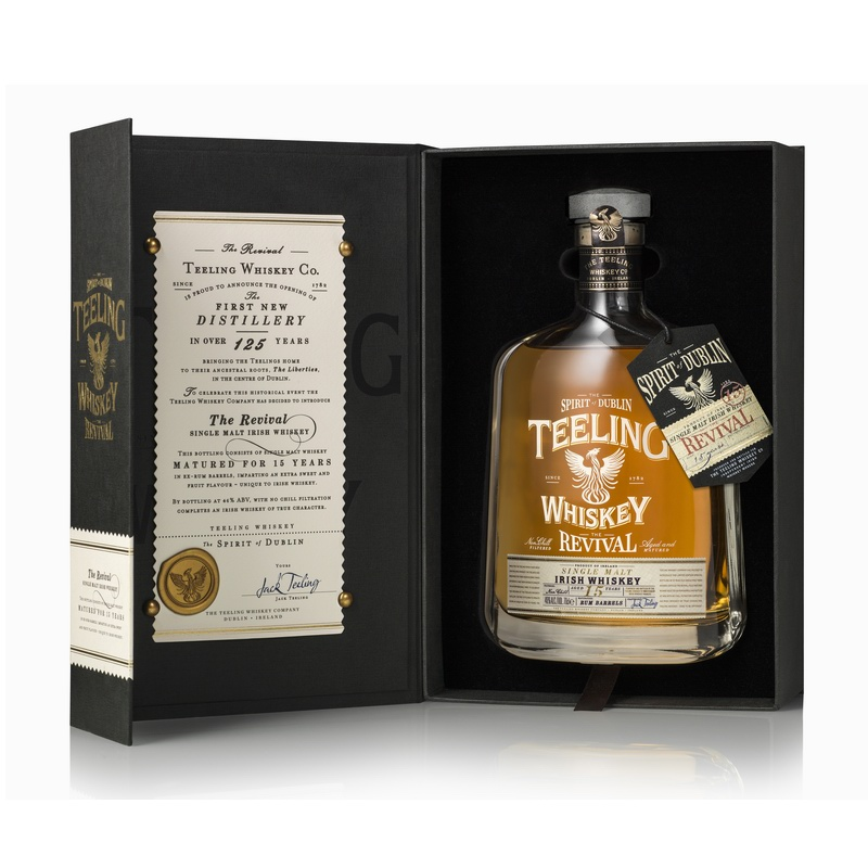TEELING 15 Years Revival Rum Cask