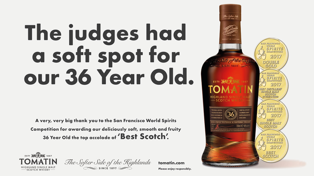 Tomatin 36 Year Old Best Scotch