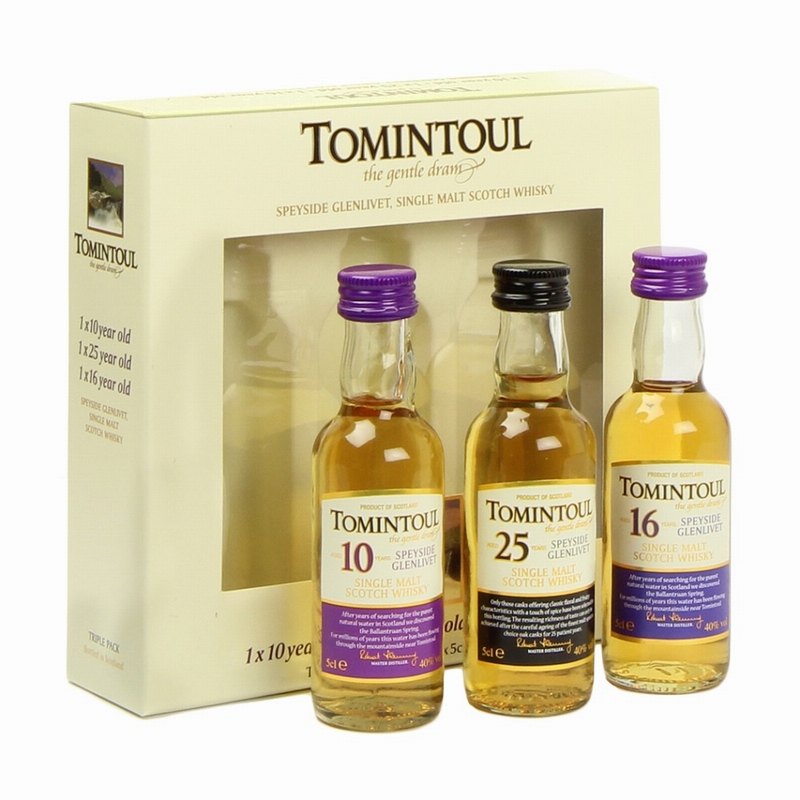 TOMINTOUL Miniatures Pack