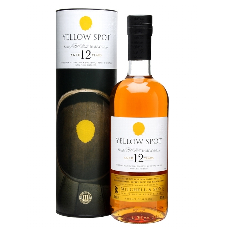 YELLOW SPOT 12 Years Single Pot Still