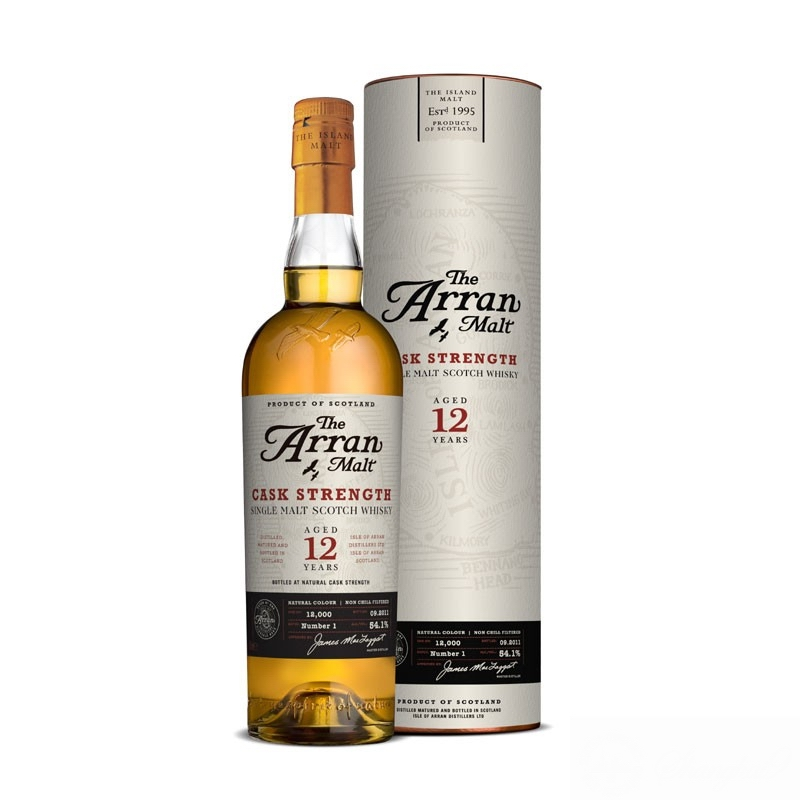 ARRAN 12 Years Cask Strength Batch 5