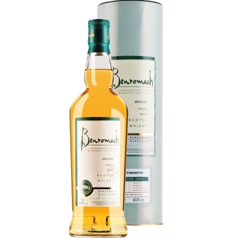 BENROMACH Cask Strength 2001