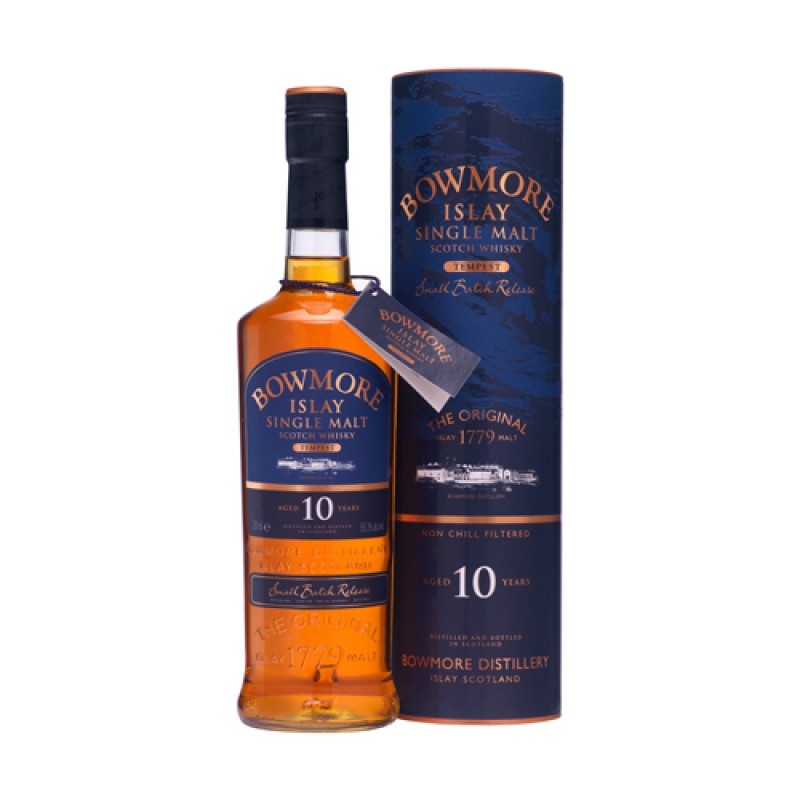 BOWMORE 10 Years Tempest