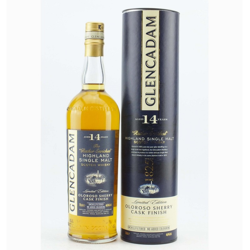 GLENCADAM 14 Years Oloroso Sherry Cask Finish