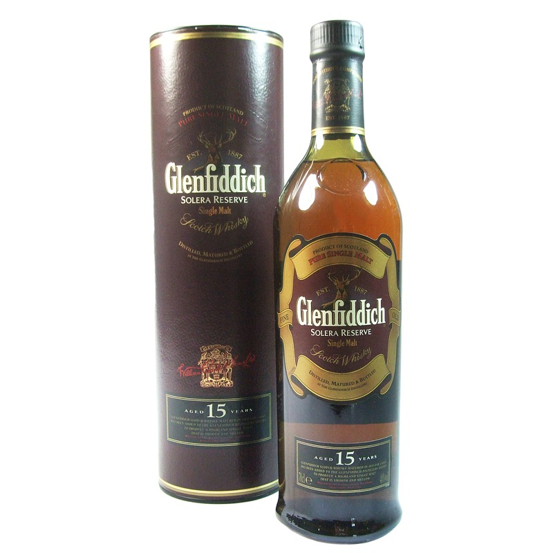 GLENFIDDICH 15 Years Solera Reserve