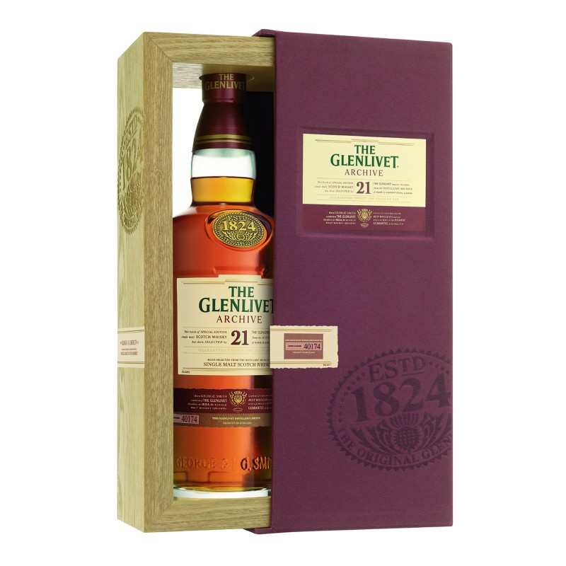 GLENLIVET 21 Years Archive