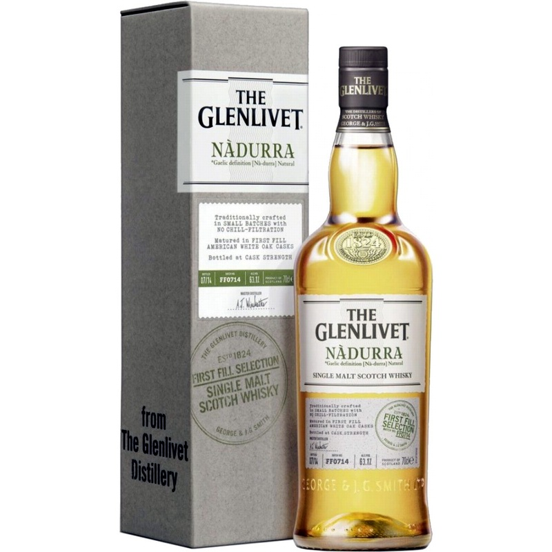 GLENLIVET Nadurra First Fill American White Oak