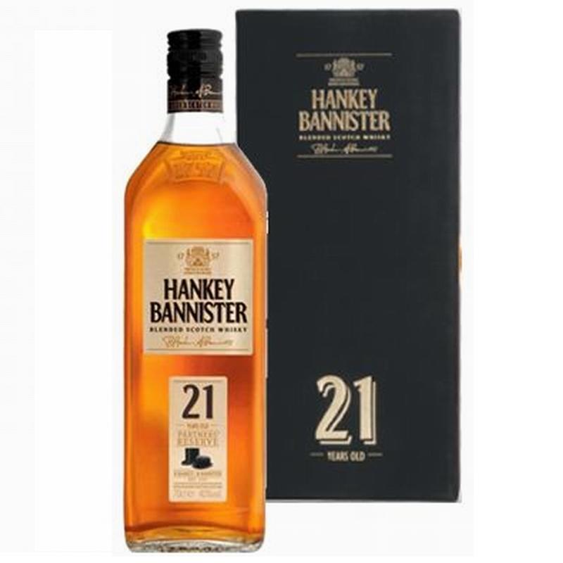 HANKEY BANNISTER 21 Years