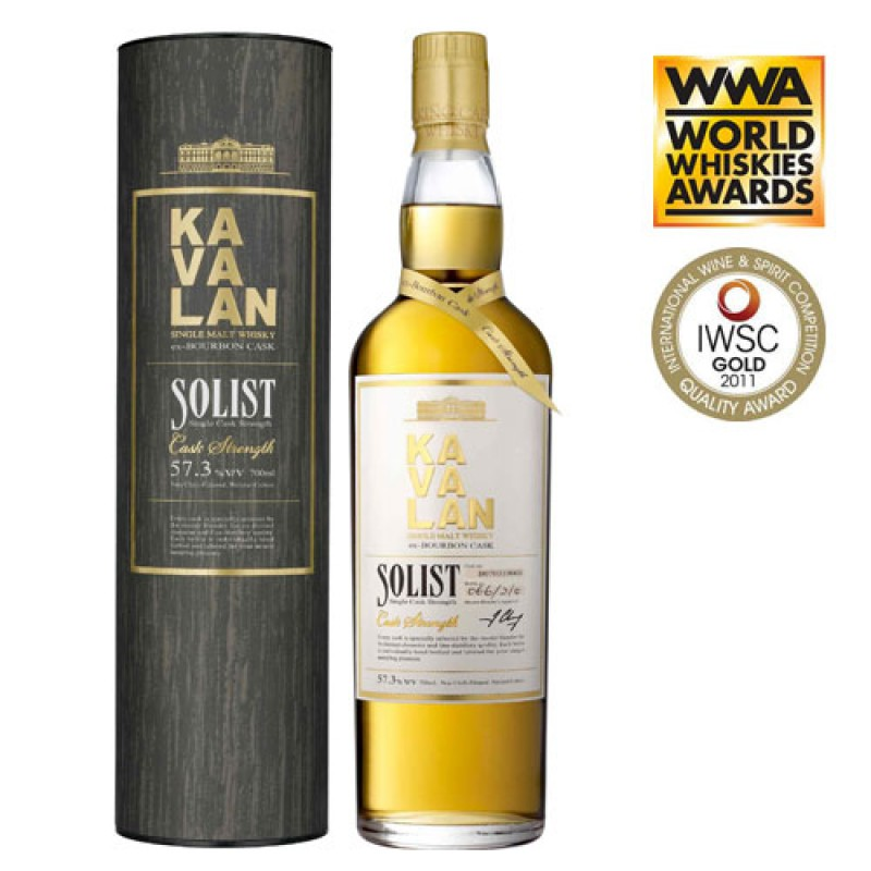 KAVALAN Solist Bourbon Barrique Single Cask