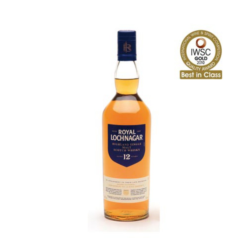 ROYAL LOCHNAGAR 12 Years Classic Malts
