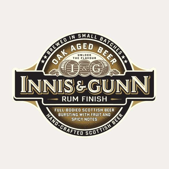 INNIS & GUNN Rum Finish Ale 33cl
